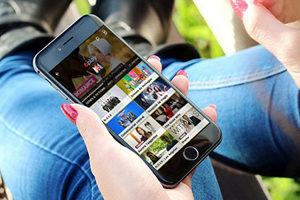 smartphone avec chaines TV